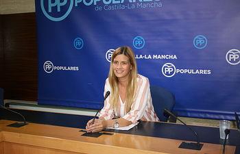 Carolina Agudo, diputada regional.
