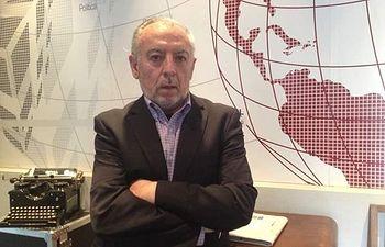 Sebastián Moreno, periodista.
