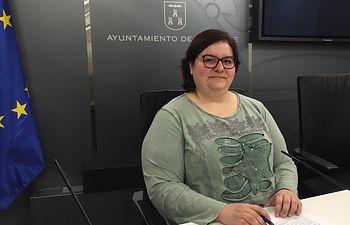 Nieves Navarro, concejala de Unidas Podemos.