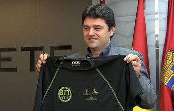 Francisco Navarro, concejal de Deportes del Ayuntamiento de Albacete.