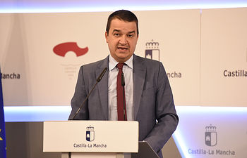 Francisco Martínez Arroyo, consejero de Agricultura, Medio Ambiente y Desarrollo Rural del Gobierno de Castilla-La Mancha.