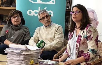 Presentación avales Reacciona y Actúa en Madrid. Foto: @reaccionayactua