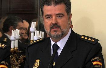 José Francisco Roldán Pastor, Comisario Jefe de la Policía Nacional en la provincia de Albacete.
