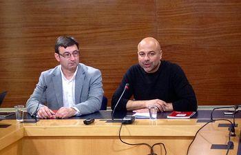 Daniel Martínez y José García Molina
