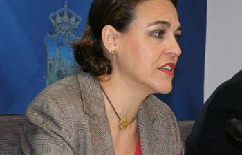 Magdalena Valerio, portavoz del Grupo Socialista en el Ayuntamiento de Guadalajara