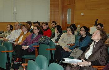 Algunos de los alumnos y público asistente