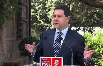 García-Page: Me comprometo a firmar con Cospedal un documento para crear 32.000 empleos