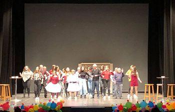 Gala de Asprona en Almansa.