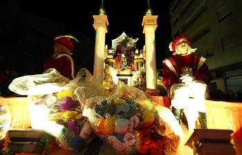 Cabalgata de los Reyes Magos en Albacete. Foto: Manuel Lozano Garcia / La Cerca