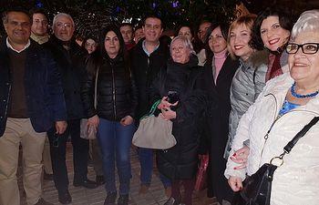 Concentración de Red Feminista en Albacete 15-01-19.