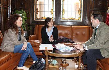 El presidente de la Diputación, Francisco Núñez, recibe al Colegio de Psicología de Castilla-La Mancha