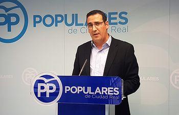 El coordinador general del PP de Ciudad Real, Manuel Borja.