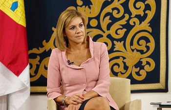 María Dolores de Cospedal se entrevista con representantes de 22 medios de comunicación castellano-manchegos
