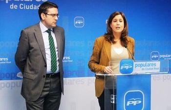Miguel Ángel Rodríguez y Rosa Romero