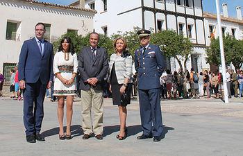 """Gregorio destaca que la bandera de España """"es la bandera de todos"""" y representa los valores de la Carta Magna"""
