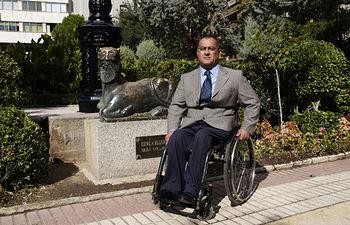 Marcelino Escobar, presidente de COCEMFE-FAMA.