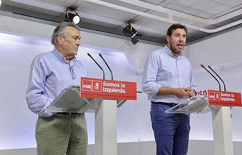 Manuel Escudero y Óscar Puente.