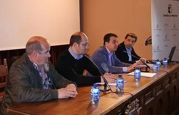 Jornada informativa sobre truficultura que se ha desarrollado en la localidad de Molina de Aragón (Guadalajara).