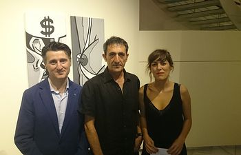 Pedro Soriano se compromete con la cultura local en la muestra de los 'Premios Artes Plásticas'