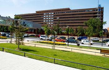 Complejo Hospitalario Universitario de Albacete. Foto de archivo.