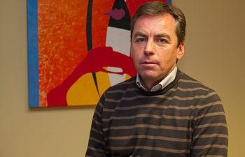José González Osuna, alcalde de Molinicos.