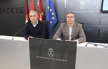 Julián Garijo y Juan Francisco Jerez.