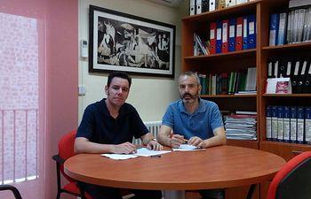 José Luis Arroyo y Alberto Sánchez.