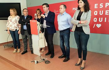 Reunión PSOE con representantes de la Función Pública CCOO.