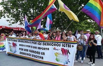 Manifestación convocada por los colectivos LGTBI en el marco del Orgullo Castilla-La Mancha 2018 que ha acogido Ciudad Real.