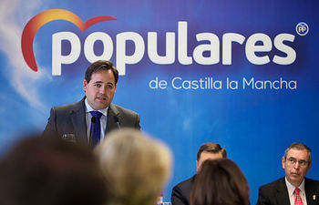 Desayuno informativo de Francisco Núñez con los medios de comunicación en Albacete