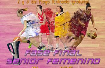 Cartel fase final senior femenino