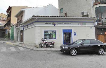 Administración de lotería en Mondejar (Cuenca)