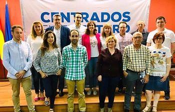 Presentación del programa electoral del PP de Pedro Muñoz.