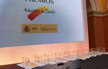 """El Ministerio de Agricultura, Alimentación y Medio Ambiente concede los """"Premios Alimentos de España 2015"""". Foto: Ministerio de Agricultura, Alimentación y Medio Ambiente"""