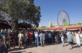 Feria de Albacete. Interior del Recinto Ferial