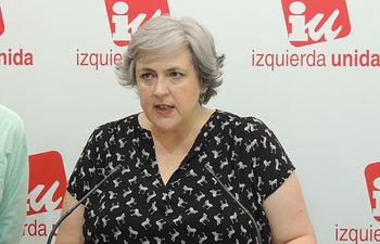 Isabel Álvarez, Responsable del Área de la Mujer de IU CLM.