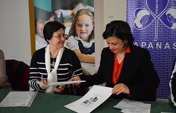 APANAS y el Internacional School San Patricio Toledo firman un Convenio de Colaboración