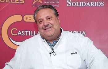 Manuel de La Osa, cocinero propietario del restaurante La Rejas en Las Pedroñeras.