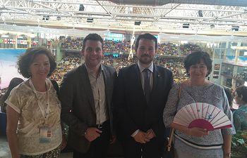 El Gobierno regional resalta la importancia de la 'Copa del Mundo de Gimnasia Rítmica Guadalajara 2016'. Foto: JCCM.