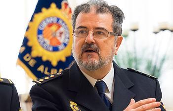 José Francisco Roldán, comisario de la Policía Nacional en Albacete