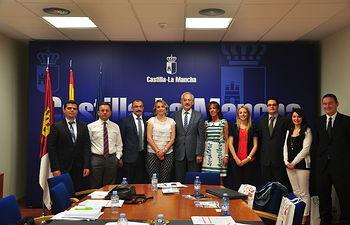 Una delegación del Gobierno de Mugla (Turquía) visita Castilla-La Mancha para conocer su turismo y el funcionamiento de nuestras instituciones. Foto: JCCM.