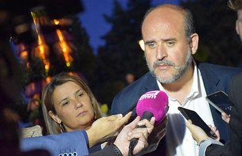José Luis Martínez Guijarro, vicepresidente primero del Gobierno de Castilla-La Mancha.