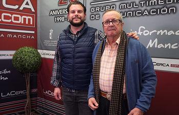 """Oscar Colmenar y Juan Cantos \""""Pimpi de Albacete\"""", empresarios de caballos de picar"""
