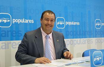 Javier López Salmerón, secretario del Área de Medio Ambiente del PP de Castilla-La Mancha y de Cuenca