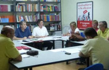 Reunión del Plenario de Acción Sindical de CCOO CLM