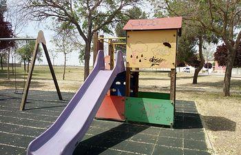 Parque infantil en Socuéllamos.