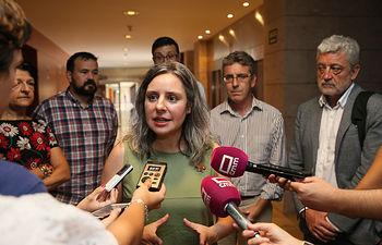 La directora del Instituto de la Mujer, Araceli Martínez, preside, en el  Salón de Actos de la Consejería de Bienestar Social, el Consejo Regional de las Mujeres. (Fotos: Ignacio López // JCCM)