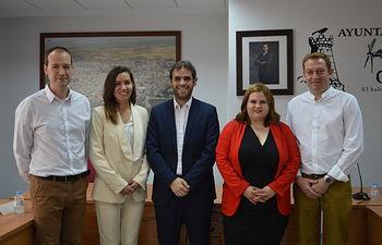 Nuevo equipo de gobierno de Mota del Cuervo.