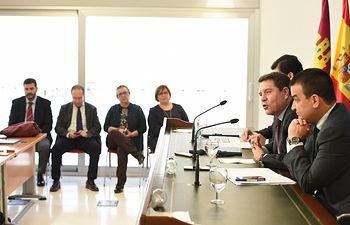 Convenio de caminos rurales con la Diputación de Ciudad Real