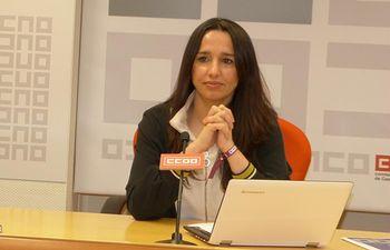 Rosario Martínez, Secretaria de Mujeres e Igualdad de CCOO CLM